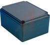 Enclosure;NEMA4;Polycarbonate;Flame Retard;Black/Blk Cover;9.84Lx7.87Wx5.12Hin -- 70020518