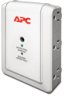 APC Essential SurgeArrest 6 Outlet Wall Mount with Phone Protection, 120V -- P6WT - Image