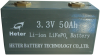 Energy Storage Battery (Solar, Wind) -- HETER-3.3V-50Ah