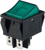 Rocker Switches -- R5BBLKGRNIF1-ND -Image