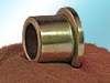 Bronze METRIC Flanged Bearings SAE 841 - Image