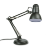 Incandescent Knight Swing Arm Desk Lamp, Weighted Base, 22