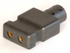 2-Pin Appliance Connector, .109