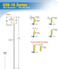 Conventional Board Testing Sockets -- 039-16 Series