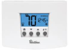 ROBERTSHAW RS4110 NON-PROGRAMMABLE THERMOSTAT, 1-STAGE HEAT/COOL/HEAT PUMP/MILLIVOLT -- IBI755521