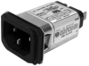 Power Entry Connectors - Inlets, Outlets, Modules -- 1-6609005-0-ND - Image