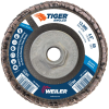 4-1/2 Tiger Angled (Radial) Zirc Flap Disc 60Z 5/8-11 Nut -- 51304 -Image