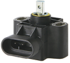 RTY Series with integral actuator, 90° (±45°) operating range, 10 Vdc to 30 Vdc supply voltage, European pinout style; standard: 0.5 Vdc (left), 4.5 Vdc (right) non-ratiometric output, -- RTY090HVEAX
