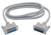 StarTech.com Straight Through DB25 Serial/Parallel Cable - S -- SC6MF