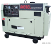Super Quiet 4,000 Watt Portable Diesel Generator