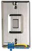 Allen Tel Stainless Steel VoIP Faceplate -- ATBK-VOIP
