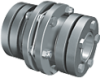 GERWAH™ Ring-flex™ Couplings With RINGFEDER Keyless Shrink Disc Hub Design -- XHS