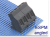 Power Fixed Terminal Block -- ESPM Angled Series -- View Larger Image