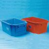 Red SSI Schaefer Stackable/Nestable Container -- 48172