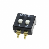 DIP Switches -- 563-CFS-0202DKR-ND -Image