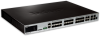 20-Port Gigabit SFP xStack Managed L2+ Stackable Switch with 4 Gigabit Combo BASE-T/SFP ports and 4 10G SFP+ ports -- DGS-3420-28SC -- View Larger Image