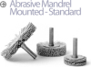 Mandrel Mounted Wheel Brushes -- BMC-13AY