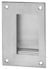 Antimicrobial Flush Pull,Satin Stainless -- 94.32D316