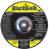 Type 27 Depressed Center Grinding Wheels. Best - Black Gold -- A8444H
