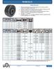Phenolic Wheel -- W-6-PHN-6400-DB