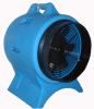 Intrinsically Safe Blower (Fan) & 25 foot Static Conductive Duct Redirects Stale Work Area Air -- EPF-30P