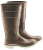 Onguard Polymax Ultra 84075 Brown/Off-White 10 Chemical-Resistant Boots - 16 in Height - Polymax Ultra Upper and Ultragrip Sole - 791079-10531 -- 791079-10531 - Image