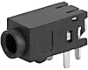 PCB terminals, insulated, 3-pole, Audio Plug/Sockets, 2.5 mm -- 4831.2330 -- View Larger Image