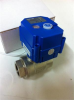 "Brass Motorized Ball Valve -- KLD075-12VDC 3/4"" - Image"