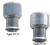 Large knob, spring-loaded Types PF11 and PF12 - Unified -- PF12-032-2-BL -Image