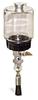 "(Formerly B1745-5X05), Manual Chain Lubricator, 1 pt Polycarbonate Reservoir, 5/8"" Round Brush Nylon -- B1745-016B1NR2W -- View Larger Image"
