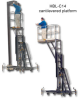 300 LB. ONE PERSON MAINTENANCE LIFT -- HBL-315 - Image