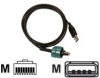 KIT CABLE USB TO RJ-45 72 -- AK18666-2