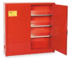 Safety Cabinet,Wall Mnt,24 gal,Red -- 2RNZ1