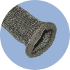 High Temperature Knitted Sleeve -ThermoJacket® E -- Brand: Bentley-Harris®