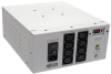Isolator Series Dual-Voltage 115/230V 1000W 60601-1 Medical-Grade Isolation Transformer, C14 Inlet, 8 C13 Outlets -- IS1000HGDV -- View Larger Image