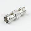 TNC Female (Jack) to TNC Female (Jack) Adapter, Tri-Metal Plated Brass Body, 1.2 VSWR -- SM4414