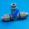 Series 689 T-Link PVC Ball Valves -- 22214