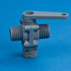 PVC Three-Way Plastic Ball Valves - 350 Series -- 22154