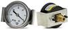 Fisnar 561871B Vacuum Gauge Black 0 to 30 psi with 0.125 in NPT Panel Mount -- 561871B -Image