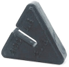 Couterpoise Cast Iron Test Weights -- Individual Slotted Toledo Triangle