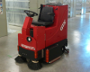 Industrial Rider Floor Scrubber, Factory Cat -- GTX