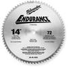 Saw Blade,Circular,14 In,1800 Max RPM -- 4YE36