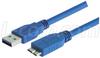 USB 3.0 Cable Type A - Micro B, 1.0m -- CAU3AMICB-1M