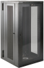SmartRack 26U UPS-Depth Wall-Mount Rack Enclosure Cabinet with Clear Acrylic Window, Hinged Back -- SRW26USDPG -- View Larger Image
