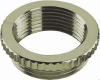Nickel-Plated Brass Metric Thread, Ribbed Reducers -- 6104733