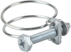 Hose clamp for securing wire-reinforced hoses SSD 43-49 ST-VZ -- 10.07.10.00020 - Image