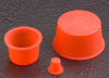 Tapered Silicone Caps and Plugs - TS SERIES -- TS-12