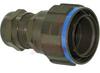 ATEX ZONE 2 THREADED PLUG WITH METAL GLAND; OLIVE DRAB CADMIUM -- 70026687 - Image