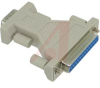 Adapter; D-Subminiature; 9-pin male to 25-pin female -- 70080839