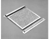 Enclosure Louvre Plate Filter Aluminum A-VK Series -- 78351034810-1